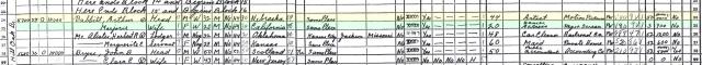 Art Babbitt's 1940 Census
