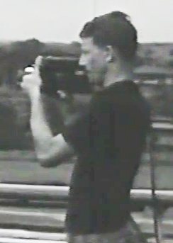 Art Babbitt with camera