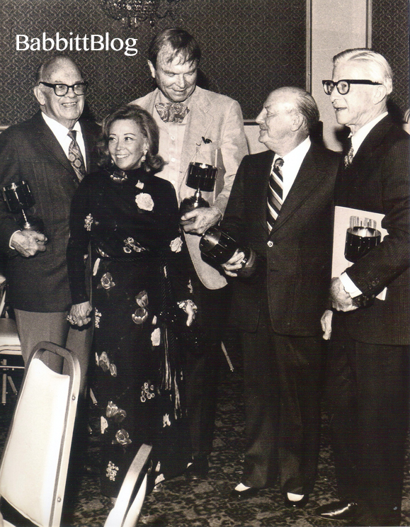 1974_Art Babbitt June Foray, Tex Avery Chuck Jones Friz Freling AnnieAwards