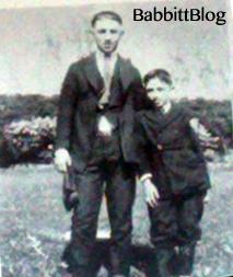 Davie Berman and Chickie Berman 1918