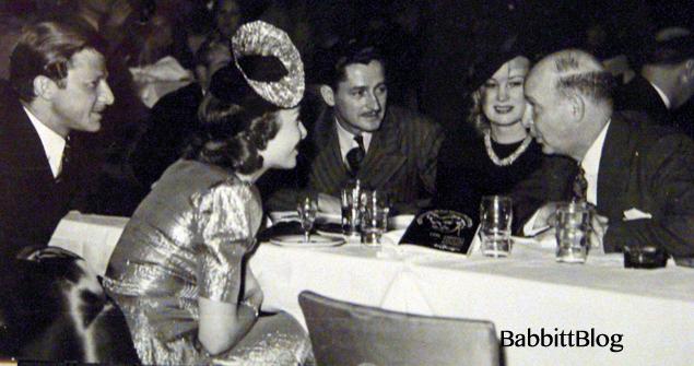 L-R: Art Babbitt, Marge Champion, Les Clark, Mimi Clark, Gunther Lessing