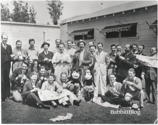 The Walt Disney Studio creative staff, circa 1933