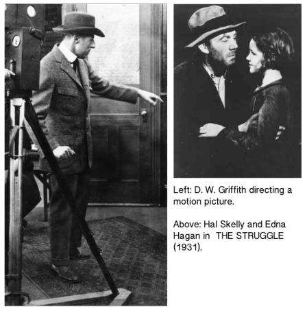 D W Griffith Hal Skelly Edna Hagan 2