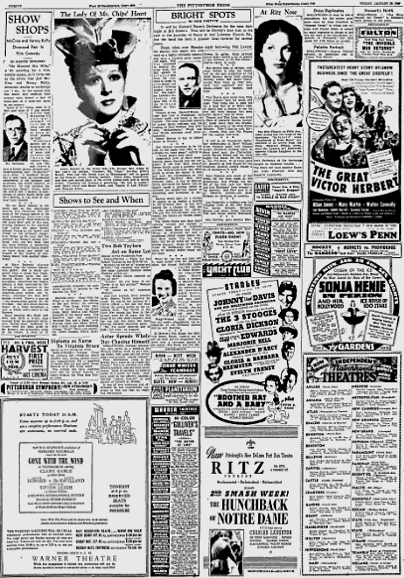 Pittsburgh Press Jan 26 1940