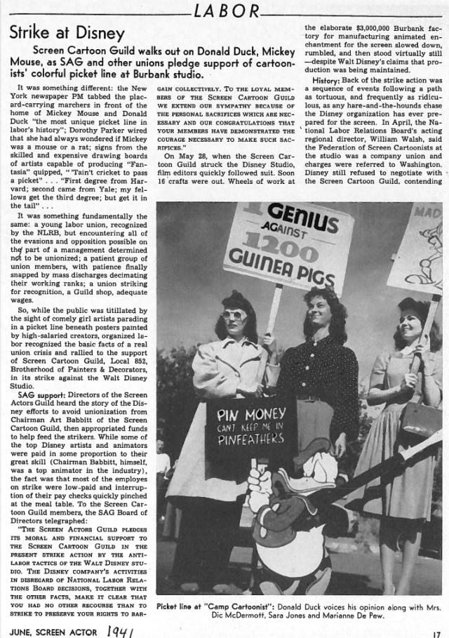 SAG bulletin June 1941 01