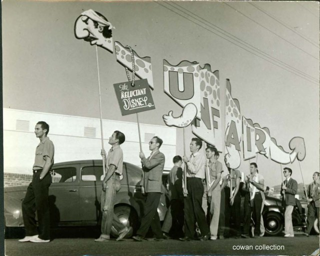 Disney Strike, c1941 (photo: Kosti Ruohomaa)