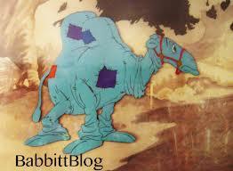 CamelWithWrinkledKnees
