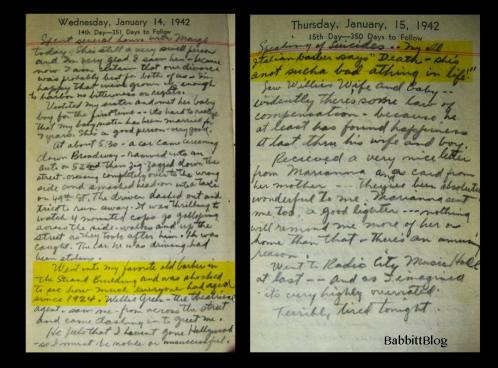 Babbitt Diary