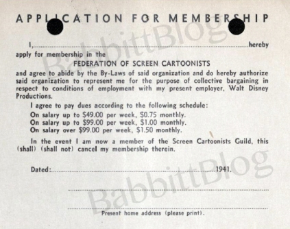 Federation Membership card 1941