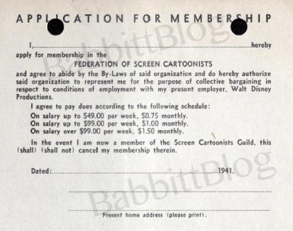 Federation Membership card 1941